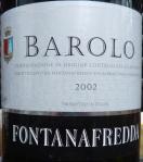 Barolo Fontanafredda 2002