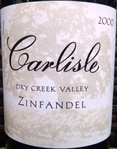 Carlisle Dry Creek Valley Zinfandel