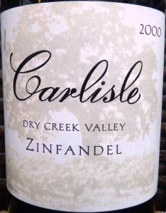 Carlisle Dry Creek Valley Zinfandel