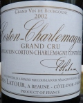 Corton Charlemane 2002