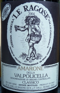 Le Ragose Amarone Della Valpolicella 2004
