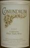 Conundrum White Table Wine, California 2007