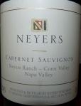 Neyers Cabernet Sauvignon Neyers Ranch - Conn Valley 2003
