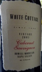 White Cottage Cabernet Sauvignon Howell Mountain 2005