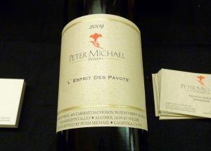 P1120613 Peter Michael L'Espirit Le Pavots