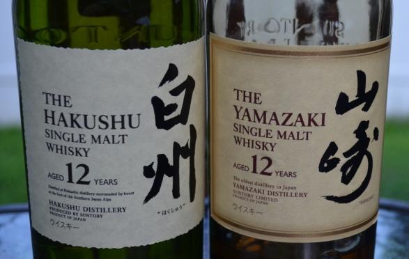 Hakushu and Yamazaki