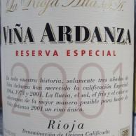 La Rioja Alta Vina Ardanza Reserva Especial