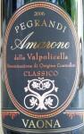 Vaona Pegrandi Amarone 2006