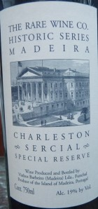 Charlston Sercial special reserve_Madeira