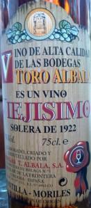 Viejisimo Jerez 1922