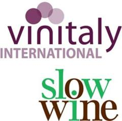 VinItaly and Slow Wine logo