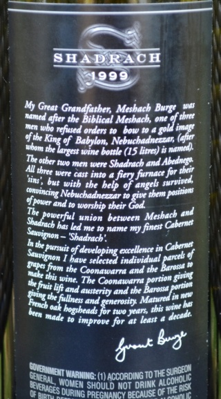 DSC_0398 Shadrach Back Label