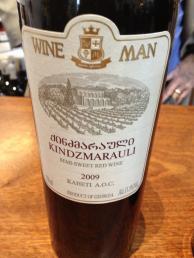 Wine Man Kindzmarauli