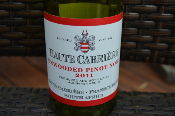Haute Cabriere Unwooded Pinot Noir