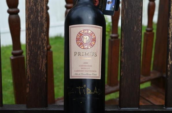 Another signed bottle I have - might be past prime already!