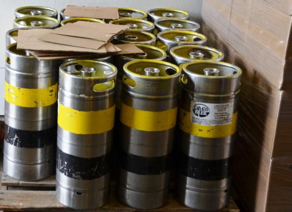 Kegs are ready!