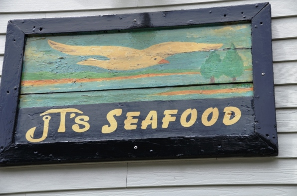 JT's - Excellent seafood in Brewster, right across from our resort