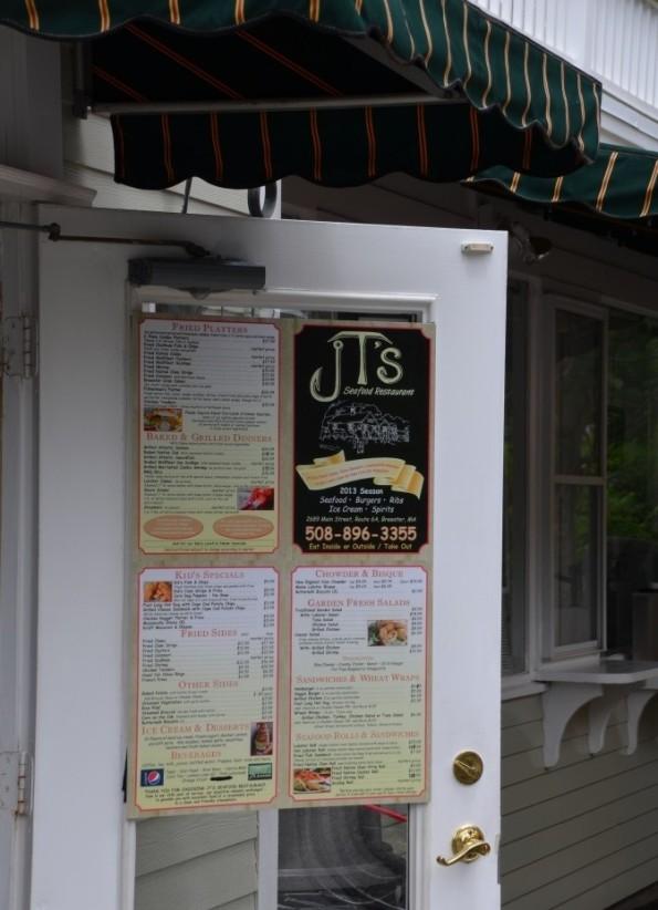 JT's entrance