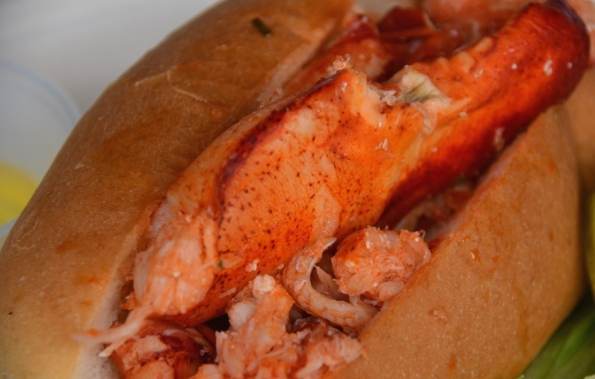 And Lobster Roll zoom in