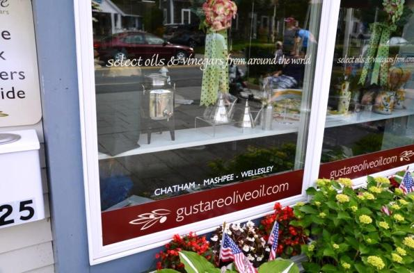 Gustare store window