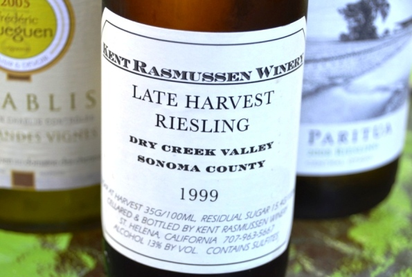 Curt Rasmussen Late Harvest Riesling