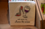 Wine lovers napkins