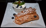 Canolli with Dipping Sauce