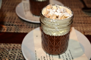 Chocolate and Peanut Butter Pot de C reme
