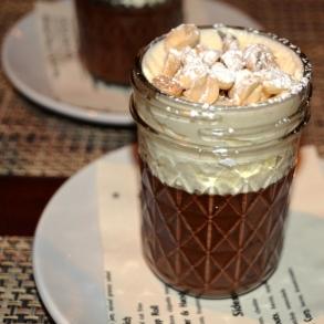Chocolate and Peanut Butter Pot de C reme