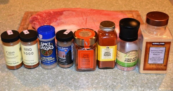 Spices for dry rub - anything you have in your pantry