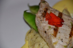 Citrus Marinated Swordfish
