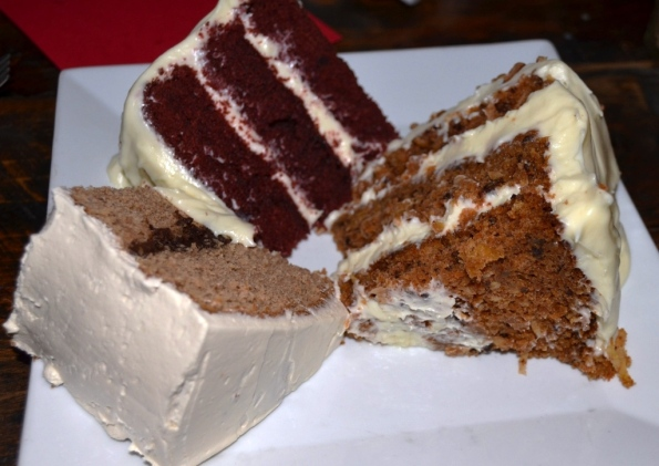 Red Velvet Cake, Spice Cake, Carrot Cake