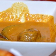 Malai Kofta - vegetable dumpling in creamy almond sauce