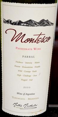 Montesco Passionate Wine