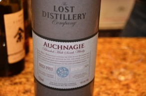 The lost distillery Auchnagie