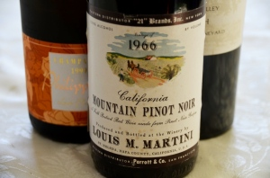 1966 Louis M. Martini Pinot Noir