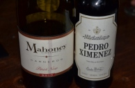 Mahoney Pinot Noir & Pedro Ximenez