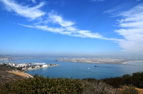 San Diego harbor View - Cabrillo National Monument