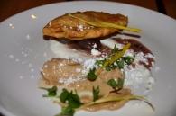 Foie Gras and Onion Perogi