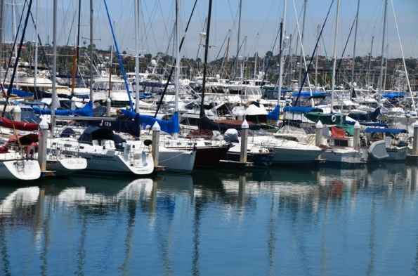 Boats on the Marina, San Diego