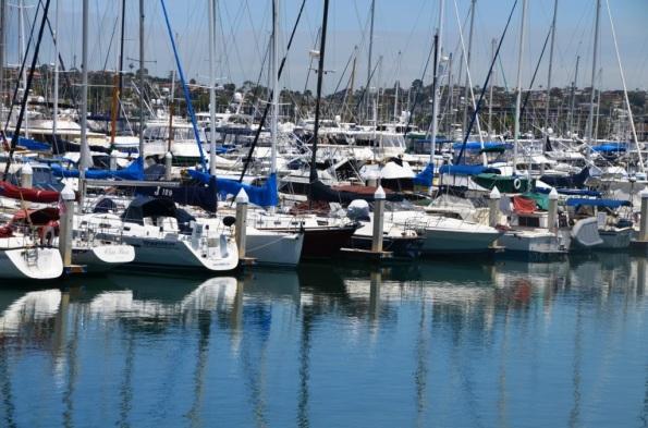 Boats on the Marina, San Diego