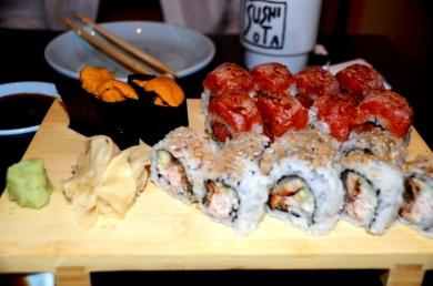 Sushi Rolls and Uni