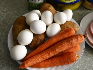 Eggs, Carrots and Potatoes