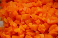 Cut up Carrots