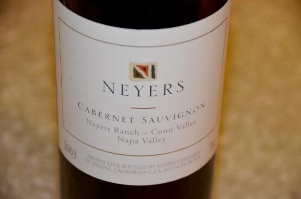 Neyers Cabernet Sauvignon