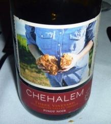 Chehalem Three Vineyards Pinot Noir