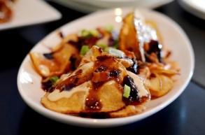 Bleu hand-cut potato Chips
