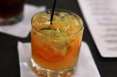 Clementine Caipirinha