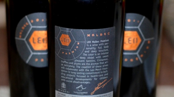 Leo Malbec Back Label