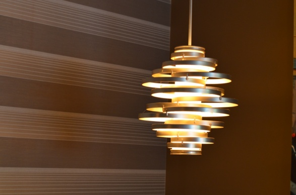 Light Fixture at Carl Antony